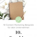 10 Content Marketing Beispiele für dein Unternehmen. Hole dir hier frische Ideen für Lifestyle-Marken! #10: Freebies
