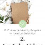 10 Content Marketing Beispiele für dein Unternehmen. Hole dir hier frische Ideen für Lifestyle-Marken! #2: YouTube-Videos