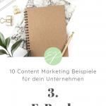 10 Content Marketing Beispiele für dein Unternehmen. Hole dir hier frische Ideen für Lifestyle-Marken! #3: E-Book
