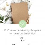10 Content Marketing Beispiele für dein Unternehmen. Hole dir hier frische Ideen für Lifestyle-Marken! #7: Rezepte