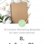 10 Content Marketing Beispiele für dein Unternehmen. Hole dir hier frische Ideen für Lifestyle-Marken! #8: Infografik