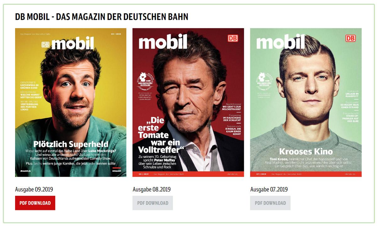 Bahn Mobil: Magazin für das Content Marketing