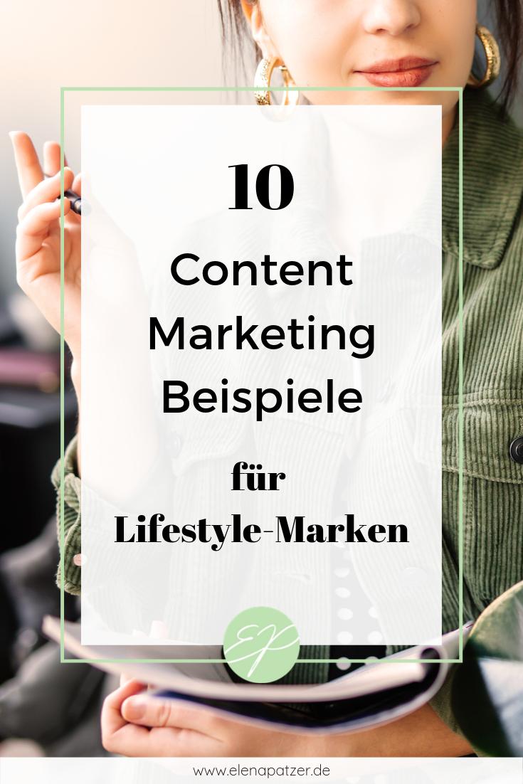 10 Content Marketing Beispiele für Lifestyle-Marken - Pinterest