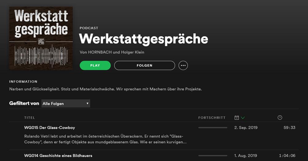 Podcast - Content Marketing Beispiel von Hornbach
