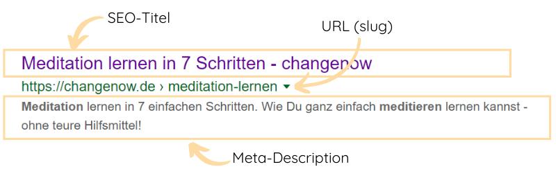 Google Snippet Optimierung