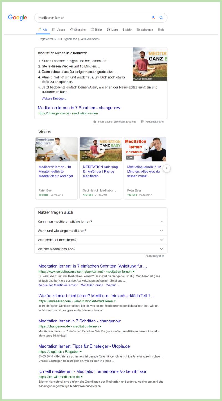 """Google Suchergebnisse für """"meditieren lernen"""""""