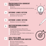 Checkliste für On-Page SEO - Infografik