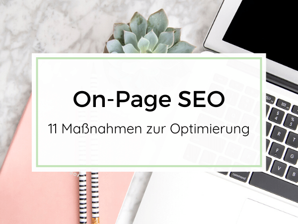 On-Page SEO für Websites