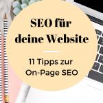 Website Suchmaschinenoptimierung - 11 Tipps