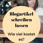 Preise: Blogartikel schreiben lassen