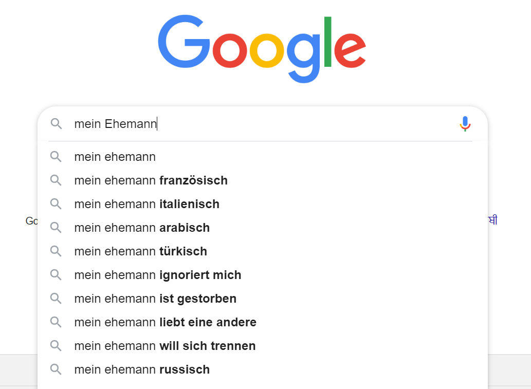 Keywords finden mit Google Suggest