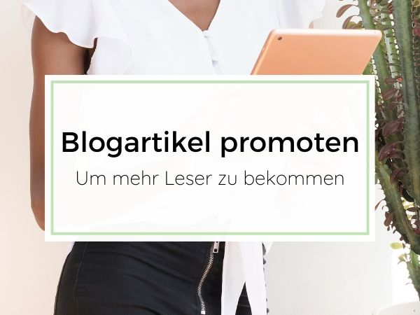 Blogartikel promoten - Blog