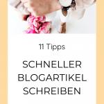 Blogartikel schreiben für Selbstständige