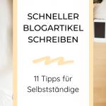 Blog erstellen - Tipps zum Zeit sparen