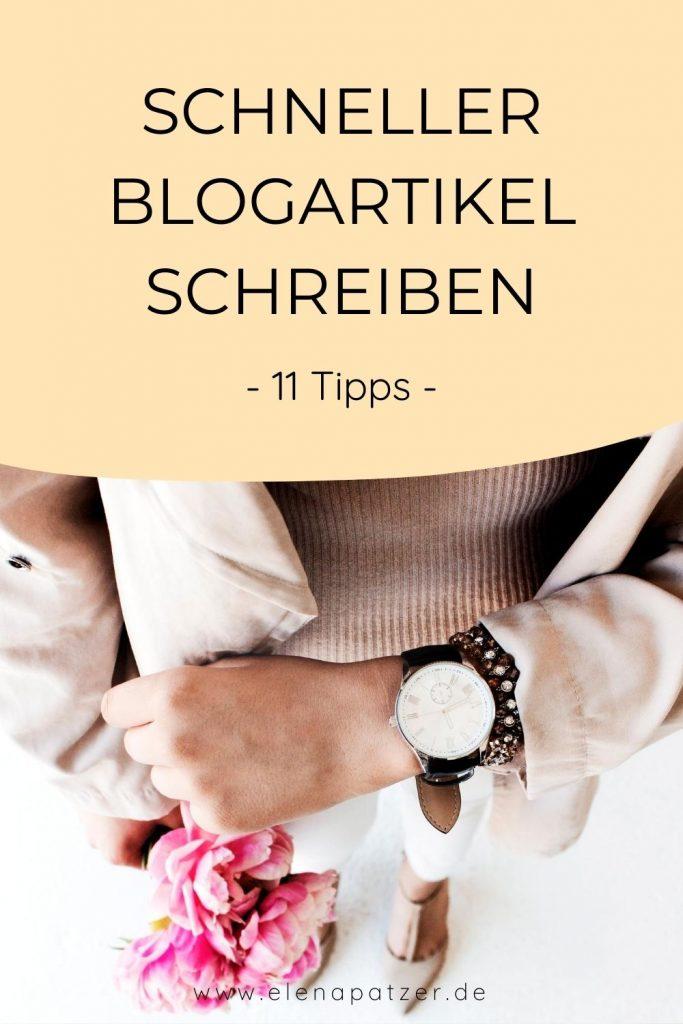 Schneller Bloggen - So sparst du Zeit beim Blogpost erstellen